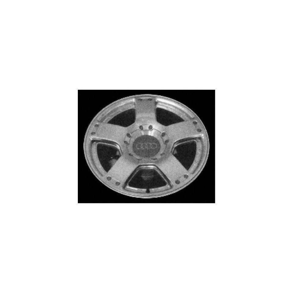 01 03 AUDI A6 ALLOY WHEEL RIM 17 INCH, Diameter 17, Width 7.5 (5 SPOKE), 25mm offset, SILVER, 1 Piece Only, Remanufactured (2001 01 2002 02 2003 03) ALY58740U10