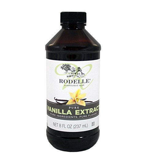 Rodelle Pure Vanilla Extract, 8-Ounce (Madagascar Vanilla Extract 8 Oz compare prices)
