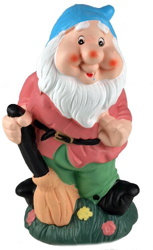 Whistling Garden Funny Gnome Ornament