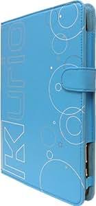 Kurio 7S Folio Case with Stand Blue