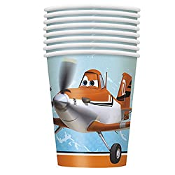 Disney Planes 9 oz Paper Cups [8 Per Pack]
