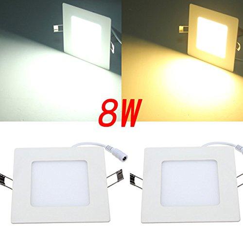 bazaar-8w-panneau-de-plafond-carre-blanc-blanc-chaud-eclairage-ac-85-265v