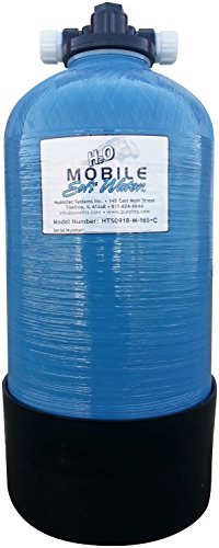 Portable 16,000 Grain Mobile-Soft-Water(Tm) Unit With Tank, Tank Head, Distributor, Resin And Instructions.