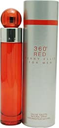 Perry Ellis 360 Red By Perry Ellis For Men. Eau De Toilette Spray 3.4 Ounces