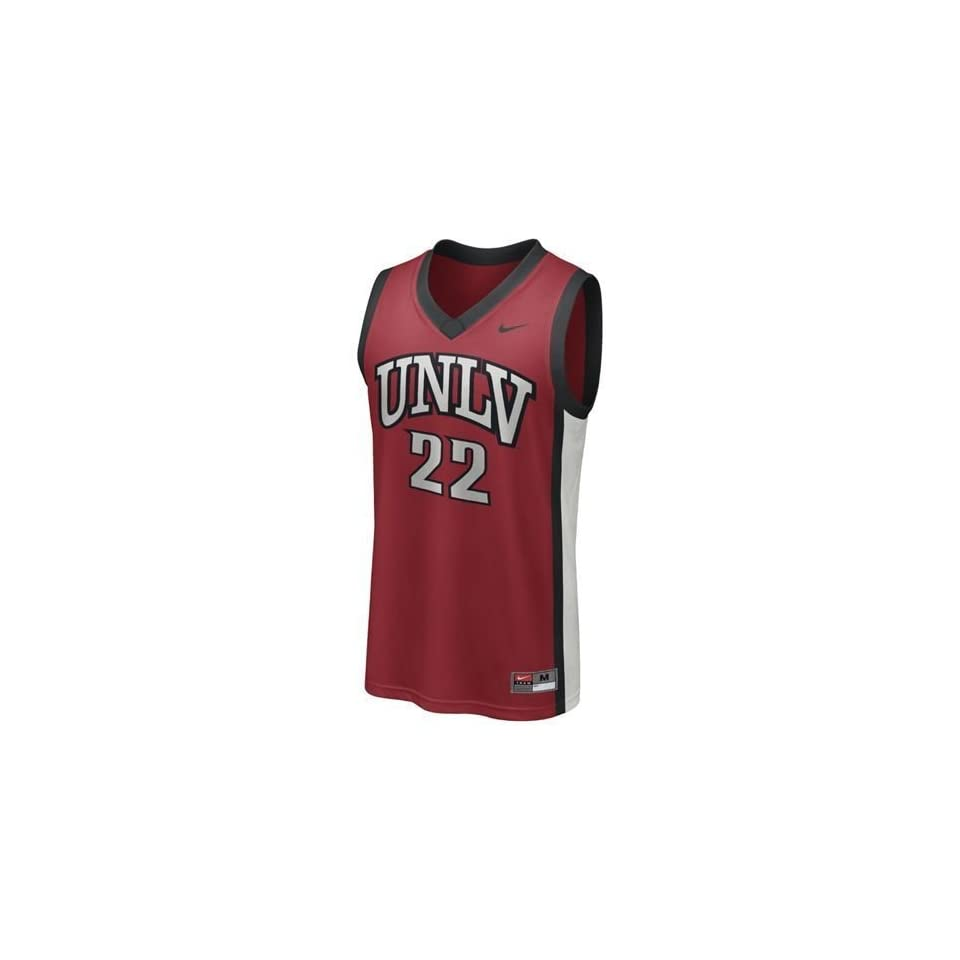 8c2f52b0f UNLV Rebels  22 Basketball Replica Jersey (Red) on PopScreen