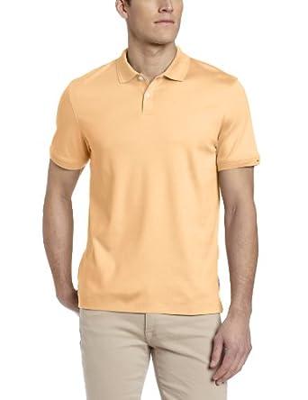 (史低)CK主标Calvin Klein Sportswear男士柔软精致短袖Polo衫 金色折后$24.36