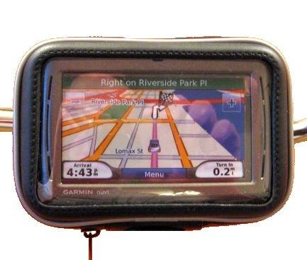 Motorcycle / Bike WATERPROOF Handlebar Mount for Garmin Nuvi 200 200W 205 205W 250 250W 255 255W 265WT 500 550 750 755T 760 765T 770 775T 780 785T 850 855 860 880 885T GPS