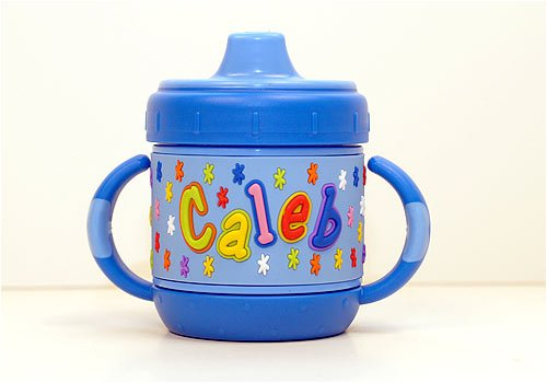 Personalized Sippy Cup: Caleb front-887279