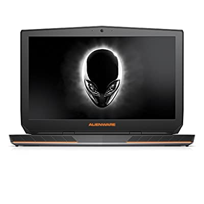 Alienware 17 FHD 17.3-Inch Gaming Laptop (Intel Core i7 4710HQ, 8 GB RAM, 1 TB HDD, Silver and Black) NVIDIA GeForce GTX 970M with 3GB GDDR5 - Free Upgrade to Windows 10