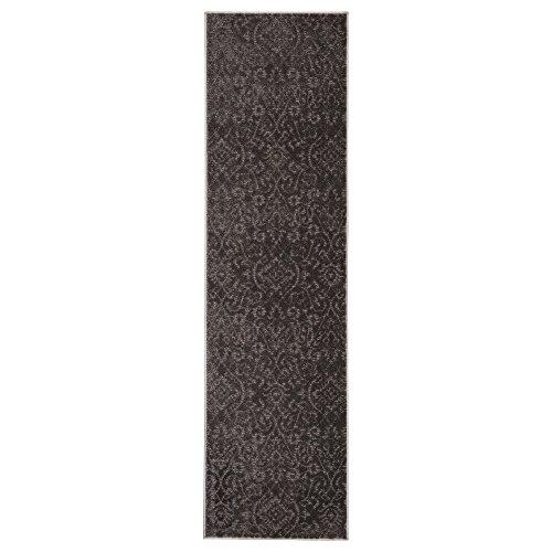 Ikea indoor patterned gray entryway hallway runner mat rug for Decorative door mats indoor