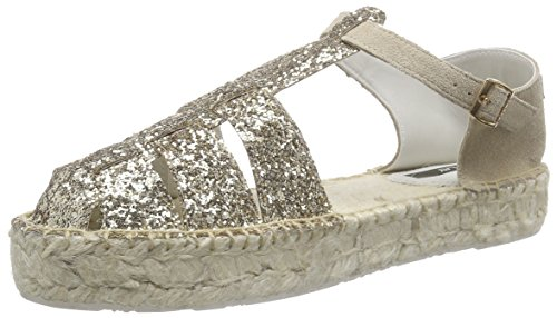 ReplayNevie - Espadrillas Donna , Oro (Gold (GOLD BEIGE 2259)), 37