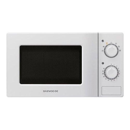 Daewoo KOR6L77 Microwave Oven, 700 Watt, 20 Litre - White