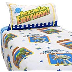 Disney Pixar Toy Story Full Sheet Set, Cotton Rich