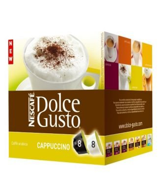 "M Block & Sons Inc/Nestle 027327 ""Nescafe"" Dolce Gusto Cappuccino Capsule - Pk/8 front-755882"