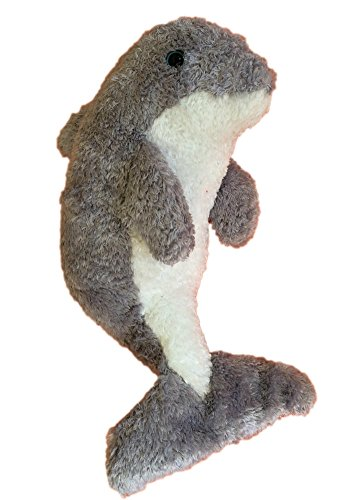 The Petting Zoo Dolphin Bean Bag Plush - 1