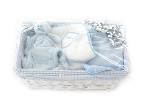 Personalised Baby Gift Set Blue