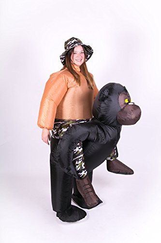 Inflatable Gorilla Adult Fancy Dress Costume