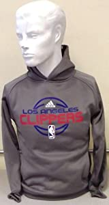 NBA Adidas Los Angeles Clippers Performance Fleece Pullover Child Hoodie (Small 8)