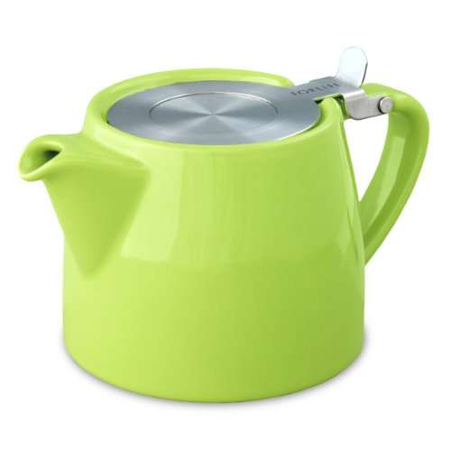 Review FORLIFE Stump 18-Ounce Teapot with SLS Lid and Infuser, Lime