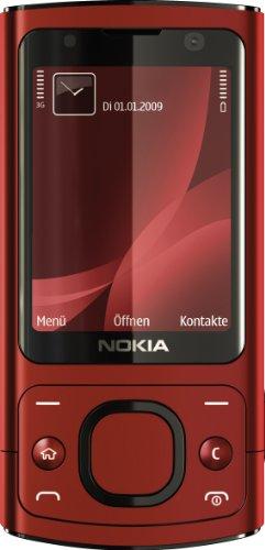 Nokia 6700 slide Handy (UMTS, GPRS, Bluetooth, Kamera mit 5 MP, Musik-Player) red