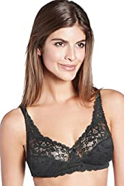 Jacquard Lace Non-Wired Bra