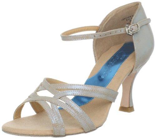 Capezio Women'S Dancesport Katusha 2.5 Inch Sandal,Blue Ice,7 W Us front-931032