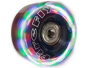 Firefly Light Up Quad Roller Skate Wheels - Flashy Light Up Wheels by Roller Derby