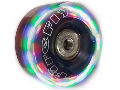 Great Features Of Firefly Light Up Quad Roller Skate Wheels - Flashy Light Up Wheels