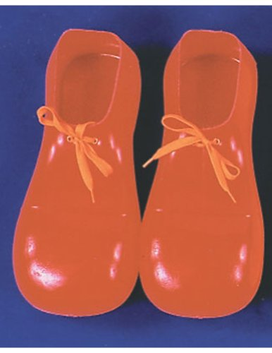 Clown Shoes Red 12In Halloween Costume - 12 inches