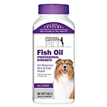 buy 21St Century Fish Oil Professional Strength Dog Skin & Coat Health