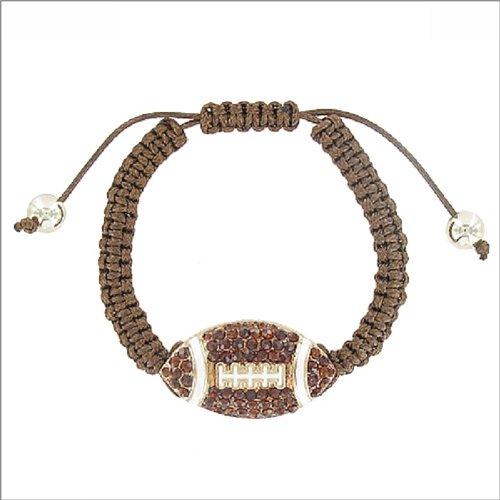 JOA Football Accent String Band Bracelet #041576
