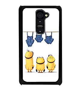 printtech Minions Bottoms Washing Back Case Cover for LG G2::LG G2 D800 D980