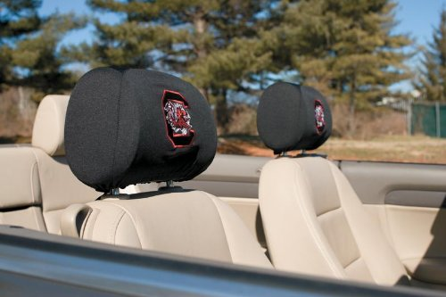 South Carolina Gamecocks Headrest Covers Set