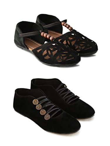 Myra-Women-Laser-Cut-and-Party-Wear-Shoe-Pack-Of-2