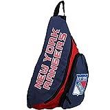 NHL New York Rangers Slingback Backpack, 8.5-Inch, Blue