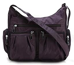 Scarleton Multi Pocket Shoulder Bag H140716 - Purple