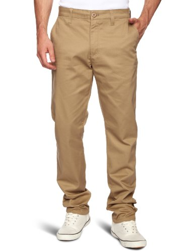 Quiksilver Union Pant Relaxed Men's Jeans Chino Beige Large
