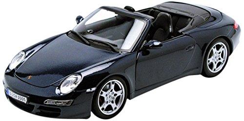 Maisto-31126-Modellauto-118-Porsche-911-Carrera-S-Cabrio-metallic-blau