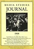 img - for Media Studies Journal 1968 book / textbook / text book