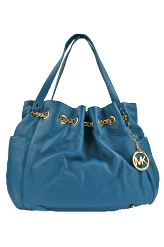 Michael Kors Jet Set Chain Ring Tote TURQUOISE