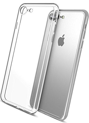 COVERbasics-AIRGEL-03mm-per-Apple-iPhone-7-47-Cover-Custodia-con-Bordo-Protezione-Proteggi-Fotocamera-TRASPARENTE-Silicone-Gel-Gomma-TPU-Flessibile-Sottile-Fina-Invisibile-Ultra-Thin-Slim
