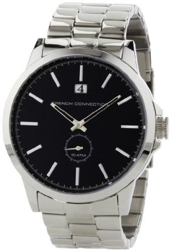 French Connection Men's FC1030U Stainless Steel Round Case Watch