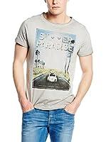 Pepe Jeans London Camiseta Manga Corta Tim (Gris)