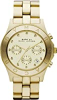 Marc by Marc Jacobs MBM3101 Ladies Gold Blade Chronograph Watch from Marc Jacobs