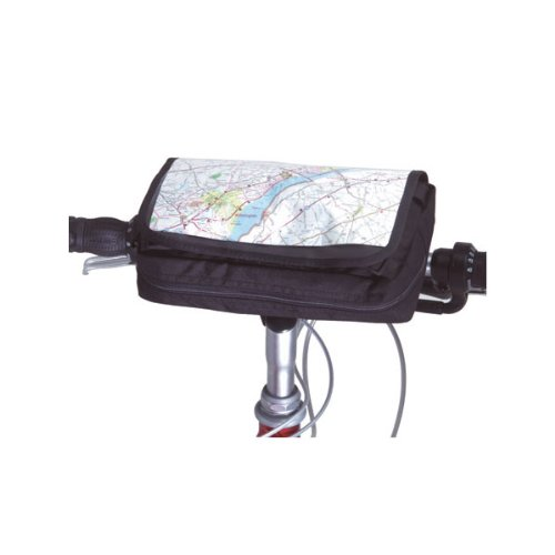 Inertia Designs Roadtrip Handlebar Bag-Black, Converts To Fanny Pack