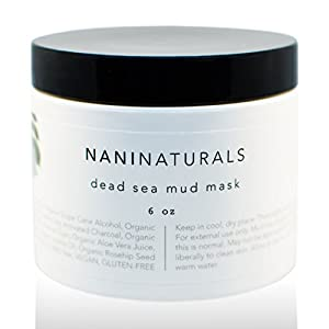 Nani Naturals Organic Dead Sea Mud Mask, 6 Ounce