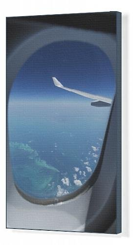 canvas-print-of-airplane-flying-over-bahamas-sand-banks-west-indies-central-america