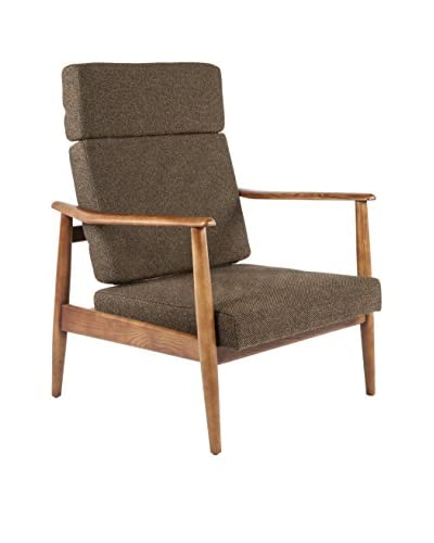 Control Brand Aalborg High Back Chair, Brown