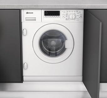 Bauknecht WAI 2642 Einbau Waschmaschine / A++ B / 1400 UpM / 7 Kg / Weiß /  Vollwasserschutz / Display / Small Display / Vollwasserschutz / Hygiene+  Programm