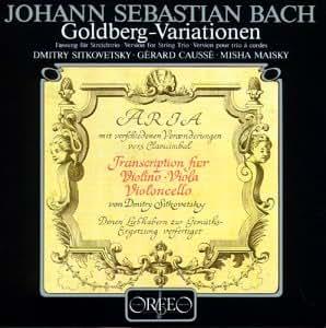Bach: Goldberg Variationen Sitkovetzk